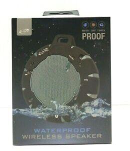 iLive Shock & Waterproof Bluetooth Wireless Speaker Black ISBW157B