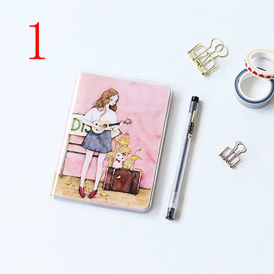 2018 Agenda Planner Monthly  Weekly Portable A6 Calendar Notebook Diary Flowery
