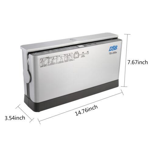 220V Binding Machine Electrical Hot-melt Binder Inserter Thermal