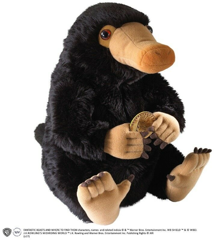 Niffler Fantastic Beasts - plush soft toy official  - Noble Collection - 32cm