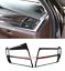 Carbon Fiber Side Air Vent Outlet Cover Trim For BMW X5 F15 X6 F16 2015-2018