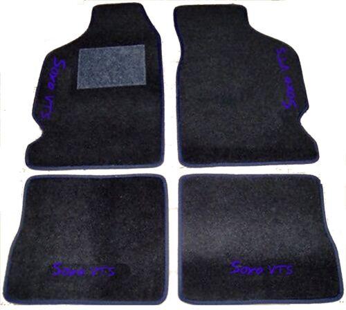 4 decori 4 block CITROEN SAXO TAPPETI tappetini AUTO