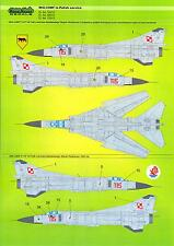 Model Maker Decals 1/32 MIKOYAN MiG-23MF Fighter in POLISH SERVICE