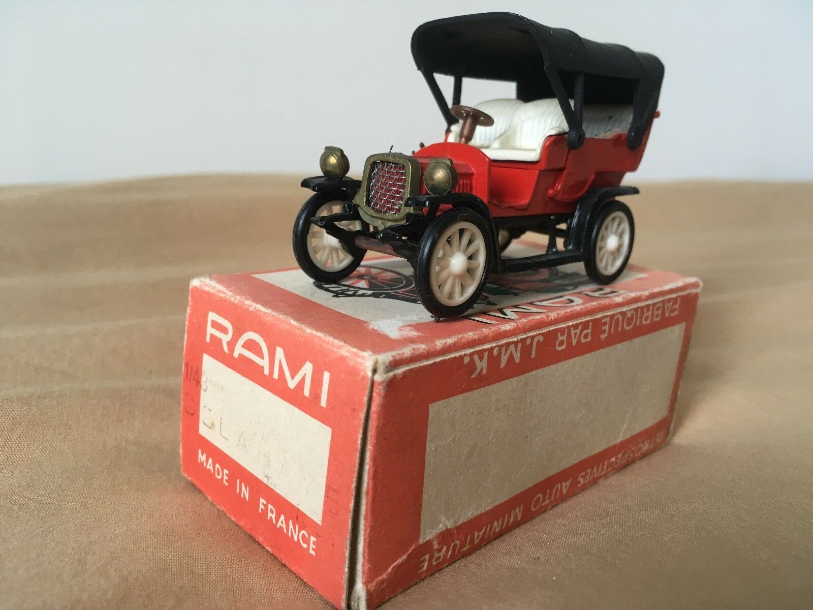 Old miniature rami jmk Delahaye 1904 r.a.m.i. 1 43 j.m.k.