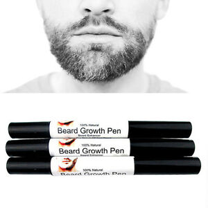 HOT-Natural-Face-Beard-Mustache-Growth-Enhancer-Fast-Grow-Liquid-Oil-Pen-Design