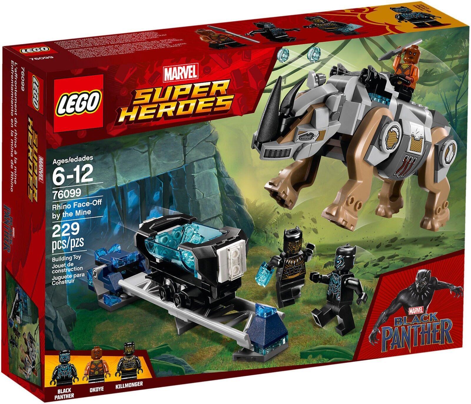 Lego marvel Super heroes 76099 - Ausbeute der Conti mit Nashorn die mine Neu