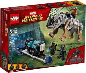 Lego Marvel Super Heroes 76099 - Resa Dei Comptes Avec Rhino La Mine Neuf