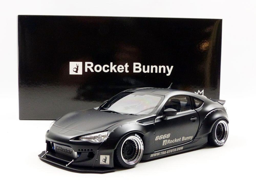 Toyota GT86 Autoart  Rocket Bunny 86 Matt Negro/Negro Rueda de Japón F/S