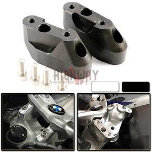 Ha28mm CNC HandleBar Handle Fat Bar Mount Clamps Riser fit BMW R1200RS 15-17 New