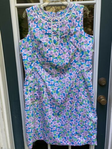 """Vtg 60's LILLY PULITZER """"The Lilly"""" Flower & Butt"""