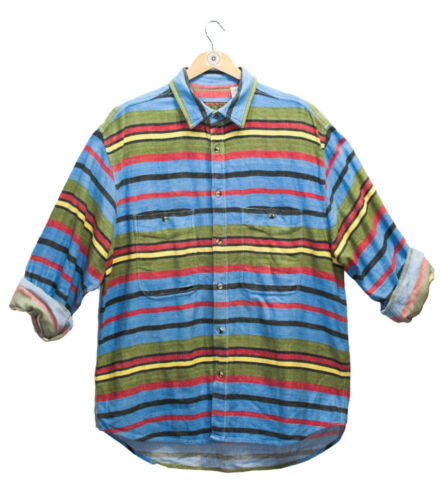 2 pcs Vintage Unisex Flannels Shirts With your Personal Shopper a free patch