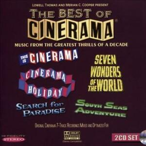 VARIOUS ARTISTS - THE BEST OF CINERAMA [ORIGINAL SOUNDTRACK] NEW CD