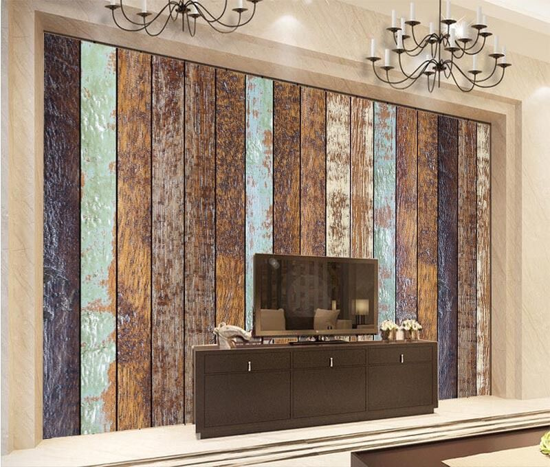3D Wood Boards 179 Wall Paper Wall Print Decal Wall Deco Wall Indoor Murals