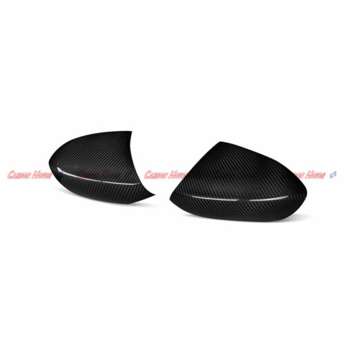 Dry Carbon Fiber Mirror Cover Add on for BMW E90 E92 E93 M3 2009-13 E82 1M 2011