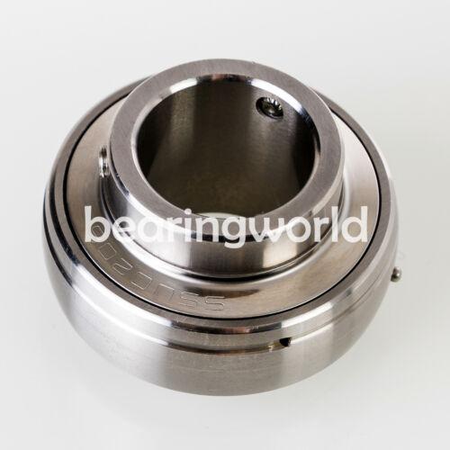 """MUC210-31  SUC210-31  1-15//16/"""" Stainless Steel Set Screw Insert Bearing UC210-31"""
