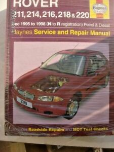 rover 200 workshop manual 38345018305 ebay rh ebay co uk rover 200 workshop manual rover 200 manual book