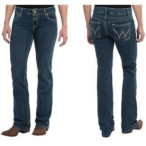 WRANGLER-WOMENS-PREMIUM-PATCH-BOOTY-UP-MAE-JEANS-US-13-14-AUS-18
