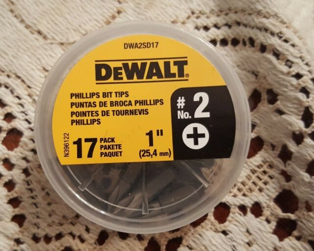 DW2002B25 Dewalt #2 Phillips Insert Bit Tip 25 Pack