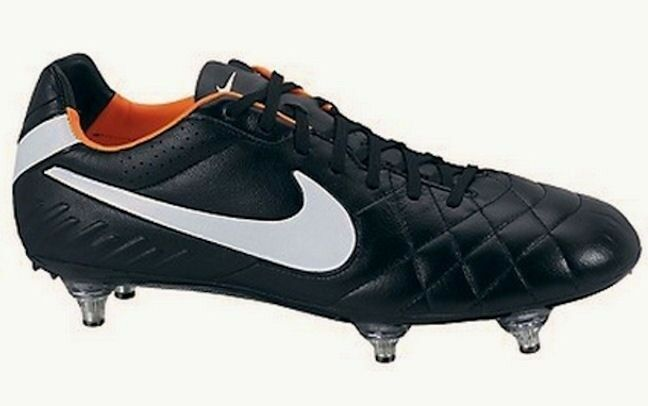 NIKE Tiempo Legend IV SG Black White Mens Soccer Cleats Boots NEW Mens White Youth Sz 6.5 5883b0