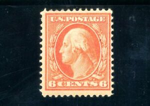 USAstamps Unused FVF US Serie of 1910 Washington Scott 379 OG MHR