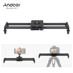 Andoer-40cm-Carbon-Fiber-Camera-Track-Slider-Video-Stabilizer-Rail-amp-Ballhead-D5X5