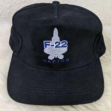Trucker Hat Cap Foam Mesh United States Air Force F-22 Raptor Lockheed Martin