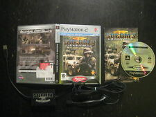PLATINUM SOCOM 3 U.S. Navy Seals Game + Casque PlayStation 2 Two PS2 Sony FR PAL