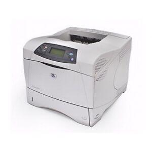 hp laserjet 4350n q5407a printer remanufactured refurbished 120 day rh ebay com hp laserjet 4350 printer manual hp laserjet 4250 printer user guide