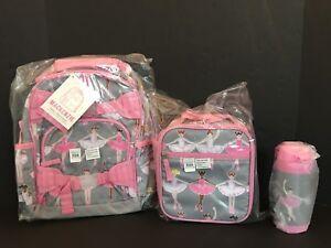 Pottery Barn Kids Glitter Ballerina Small Backpack Lunch