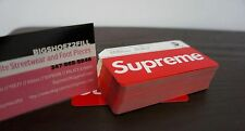 SUPREME METRO CARD MTA SS17 - BRAND NEW