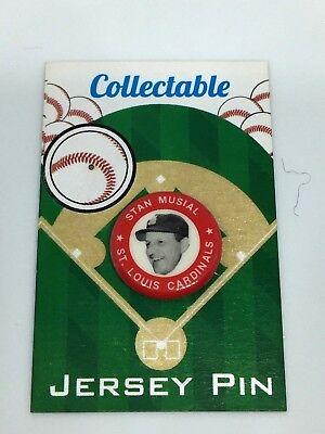 Gewissenhaft St Louis Cardinals Stan Musial Pinback-retro Klassisches Collectable #1 Fan Fav Baseball & Softball