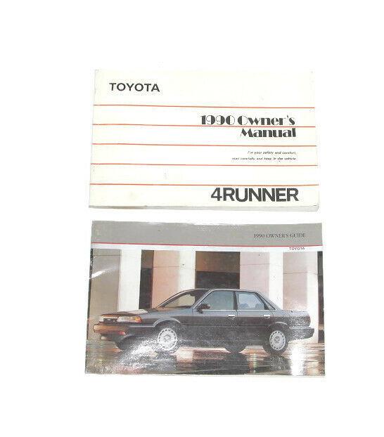 1990 Toyota 4runner Factory Original Owners Manual  7