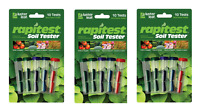 3 Packs Rapitest Soil Testing Kits For Adjusting Soil Conditions