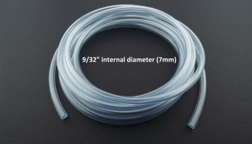 FLEXIBLE Clear PVC WATER PIPE For Aquariums//Cars// Pond//AirALL SIZES /& LENGTHS