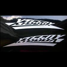 2x Aufkleber Sticker Yamaha XT660X Tank #0489