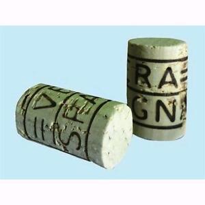 100 Tappi x vino in sughero universali mm 26x38