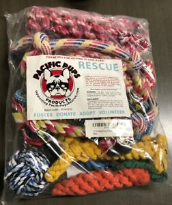 Rescue-Pacific-Pups-11-piece-Dog-Rope-Toys-New