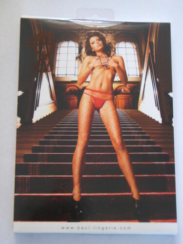 Baci Lingerie Red Large Diamond Net Pantyhose ONE SIZE #8