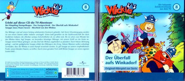 Wickie und die starken Männer - Der Überfall aufs Winkadorf - Nr. 8