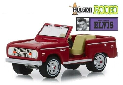 1974 ford bronco-elvis presley-Houston Rodeo *** GreenLight hobby 1:64 nuevo