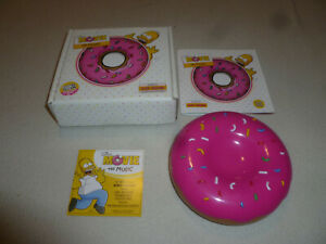 Boxed The Simpsons Movie The Music Soundtrack Donut Case Hans Zimmer Ebay