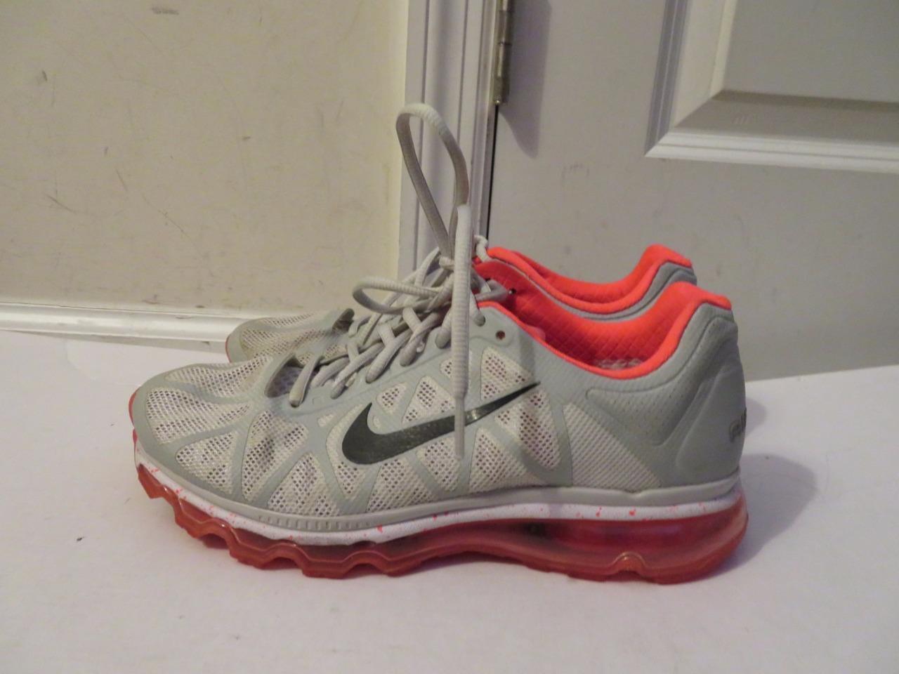 Nike Nike Nike air max donne pelle   grigio   rosa materiale scarpe taglia 8,5 | La prima serie di specifiche complete per i clienti  | Scolaro/Ragazze Scarpa  e3c42d