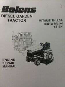 image is loading bolens-diesel-mitsubishi-l3a-engine-service-repair-manual-