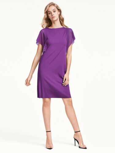 Wolford Miranda Dress variabel tragbares Kleid mit Tüllärmel