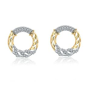 18k-yellow-gold-gf-made-with-Swarovski-crystal-twisted-pattern-round-earrings