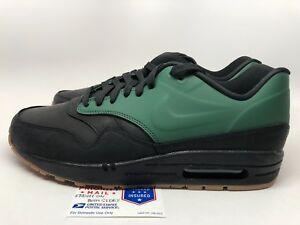 edb74dc547e3 Image is loading Nike-Air-Max-1-VT-Black-Green-QS-