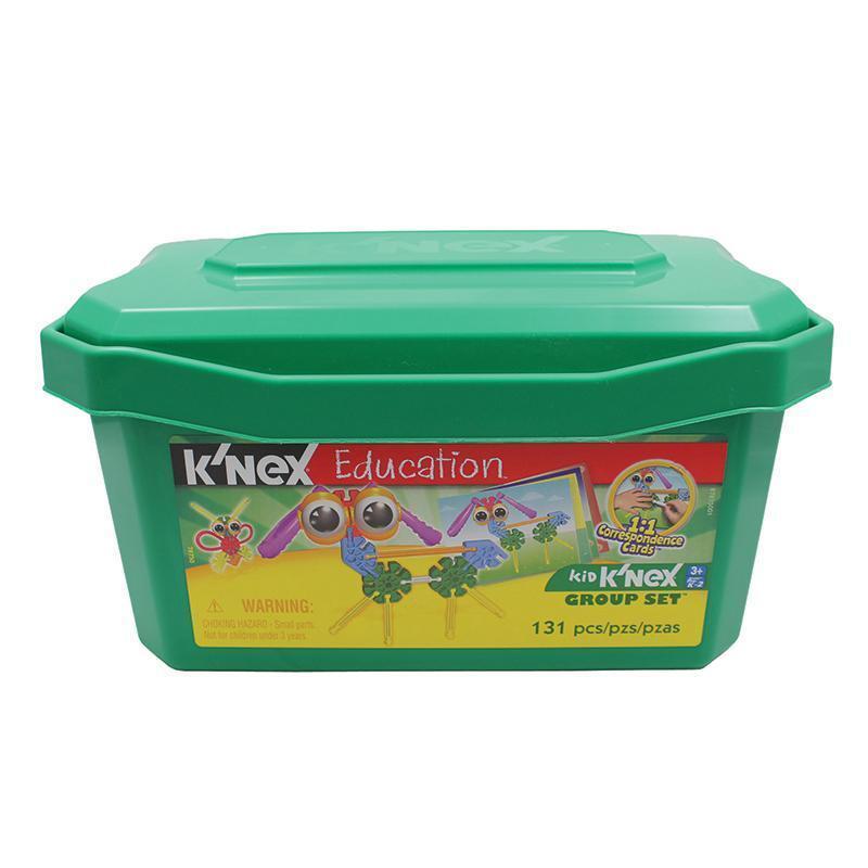 KID KNEX Education Group Set 78750  Tub Building Set 131 pieces NEW