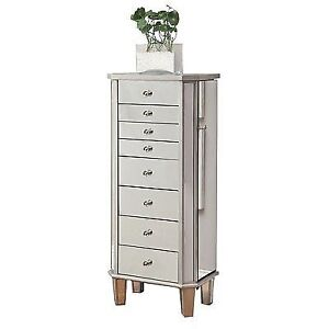 Coaster Home Furnishings 903808 Contemporary Jewelry Armoire Antique