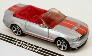 2007 07 FORD MUSTANG SHELBY GT500 RARE 1:64 SCALE COLLECTIBLE DIECAST MODEL CAR