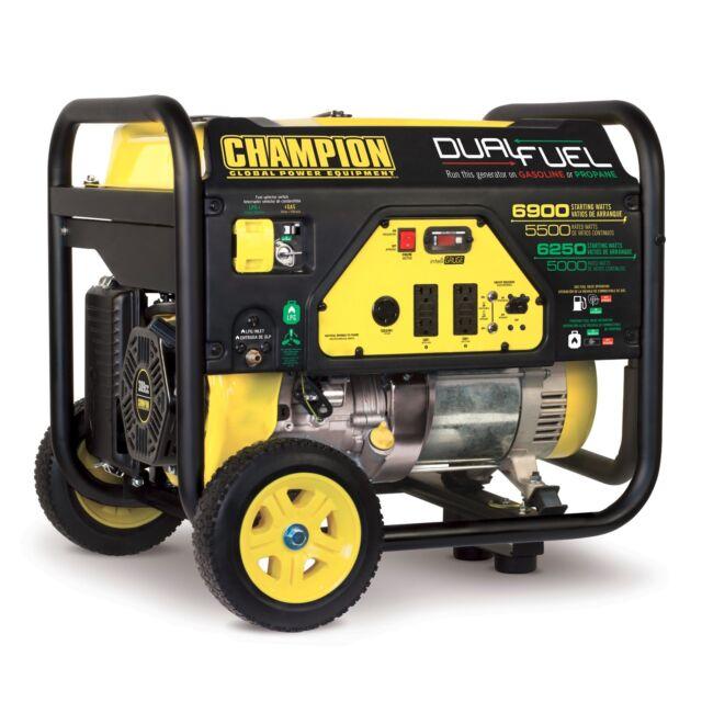 Champion 100419 7000w 9000w Dual Fuel Generator For Sale Online Ebay
